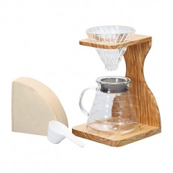 Hario Dripper Stand Olive Wood