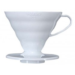 Hario 02 Dripper V60 White Ceramic
